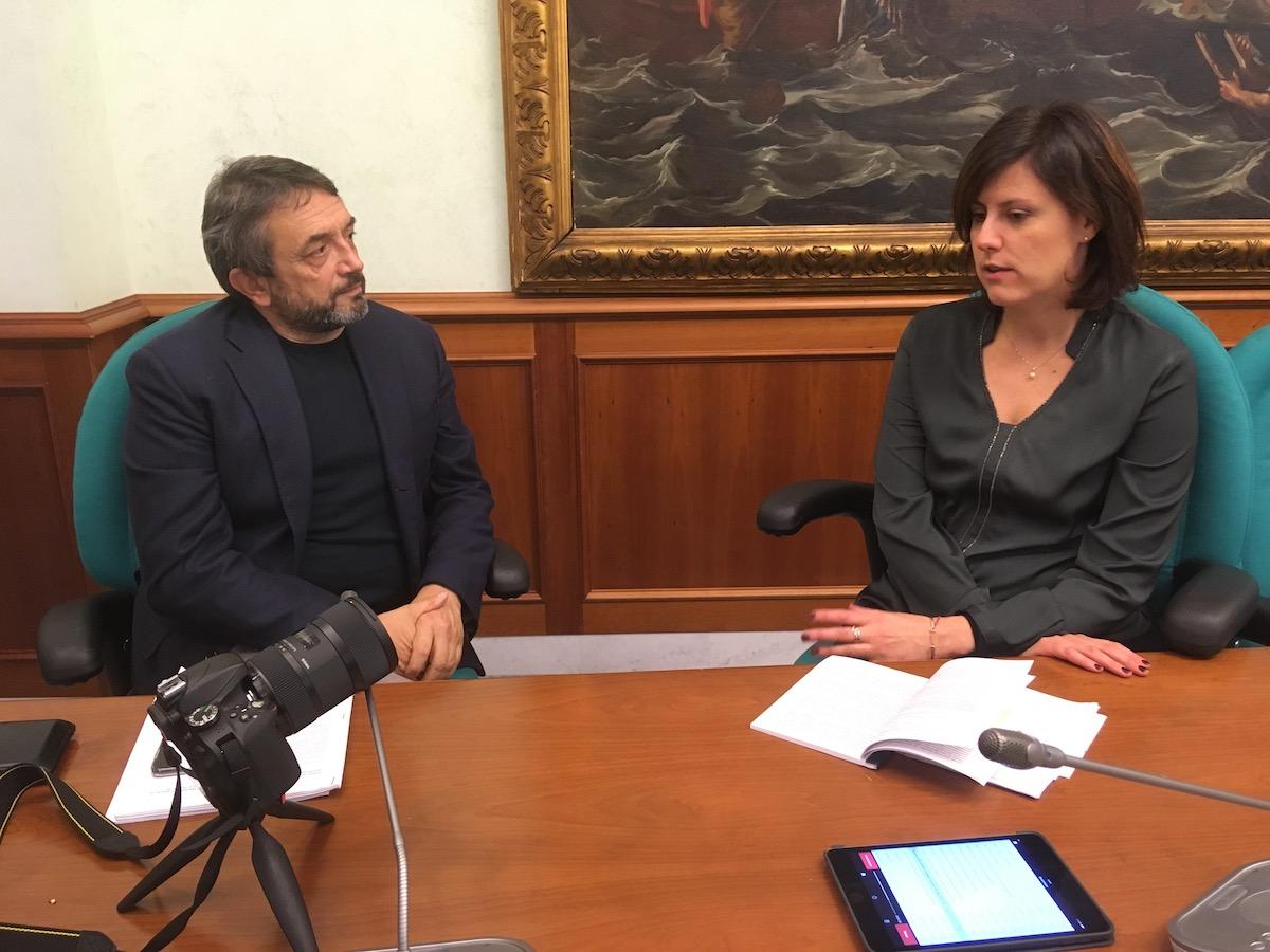 RiformaProciv: Luca Calzolari e On. Chiara Braga